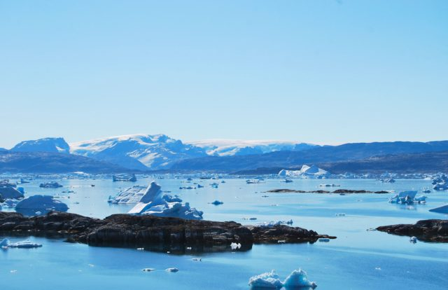 melting of the Antarctic ice sheet