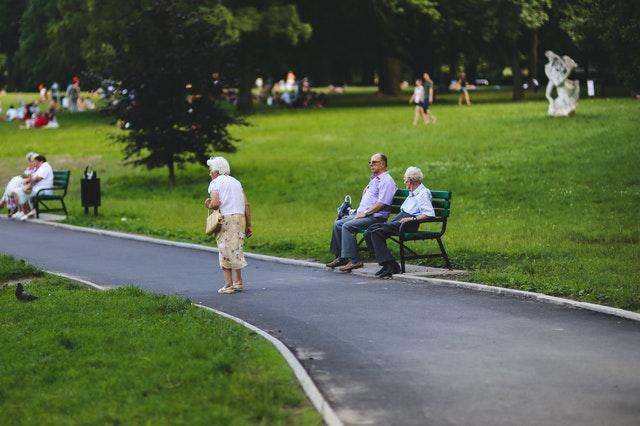 Green Spaces improve Seniors Health