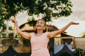 Boost seniors health from green spaces