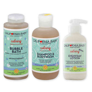 California Baby offers natural baby products