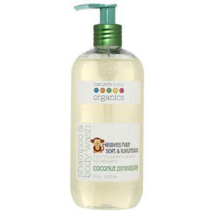 Nature's Baby Organics shampoo