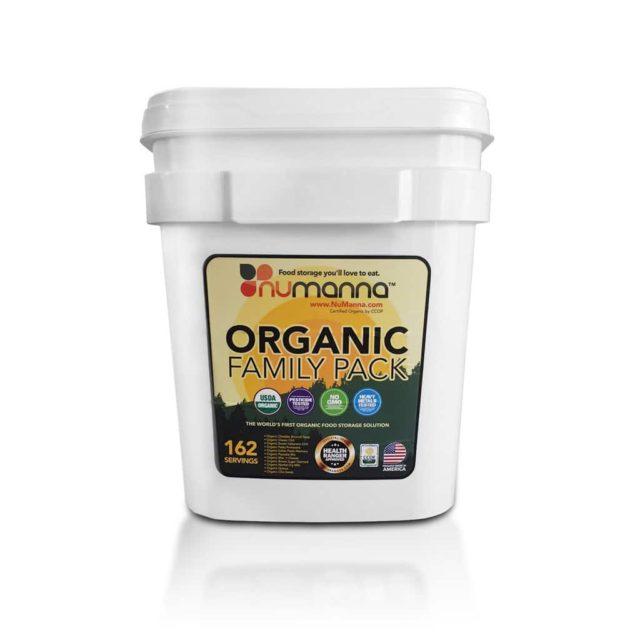 Numanna Organic Long-Term Food Storage Products