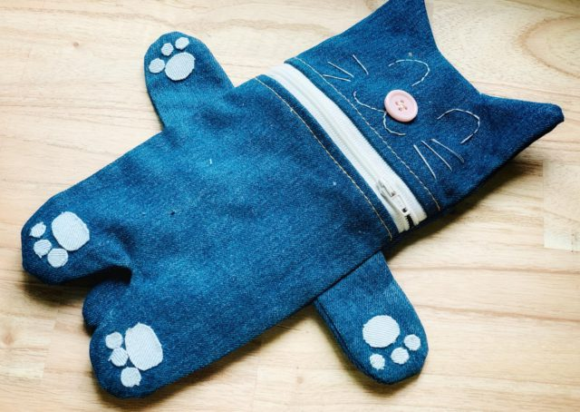 handmade jeans purses