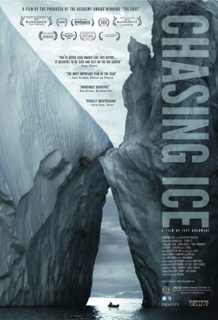 Chasing ice Environmental Documentaries onNetFlix