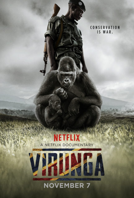 Virunga Environmental Documentaries on NetFlix