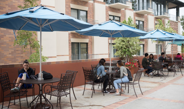 Phone-Charging Solar Umbrellas for Eco-Friendly Shopping