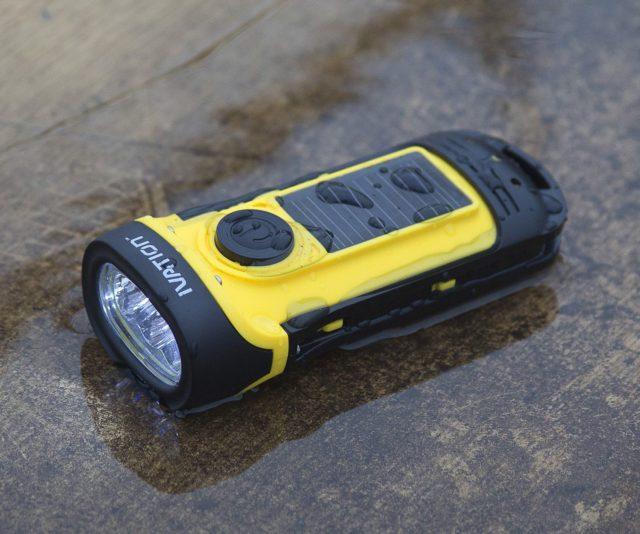 Solar Flashlight for Eco-Friendly Shopping