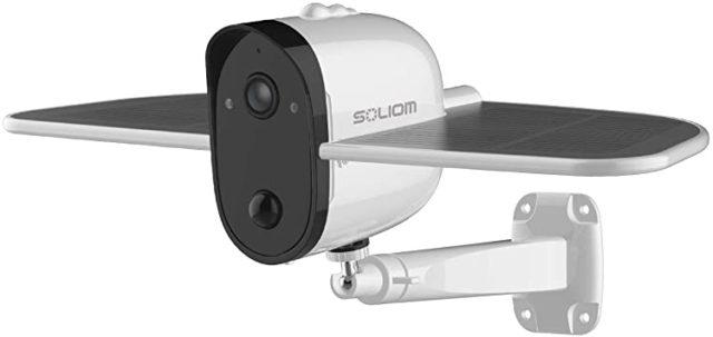 Solar Outdoor Security Camera for Eco-Friendly Shopping