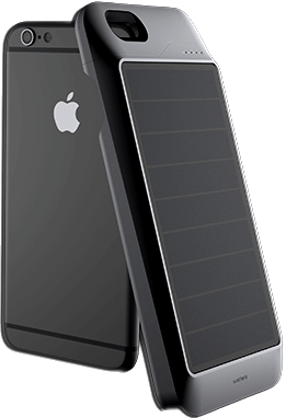 Solar Phone Case for Eco-Friendly Shopping