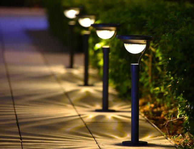 Solar-Powered LED Garden Lamp for Eco-Friendly Shopping