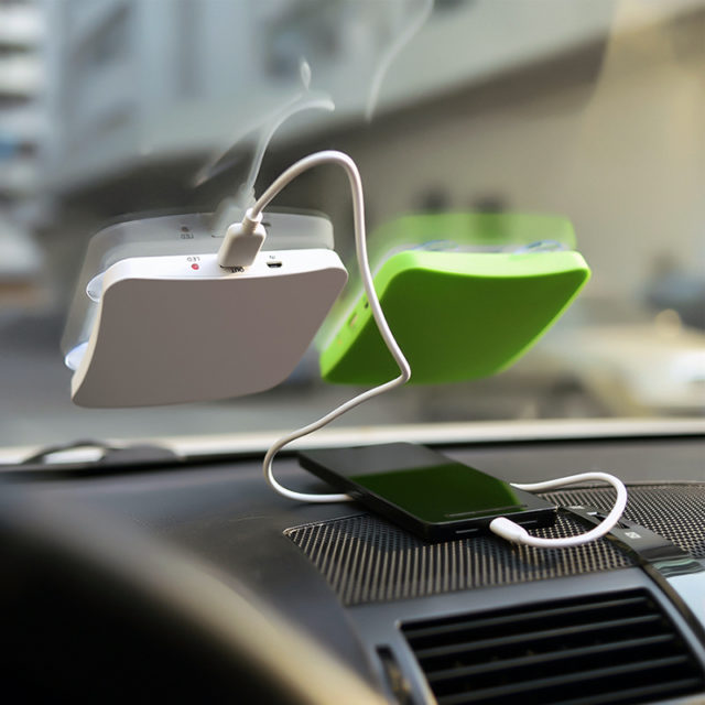 Solar Window Charger for Eco-Friendly Shopping