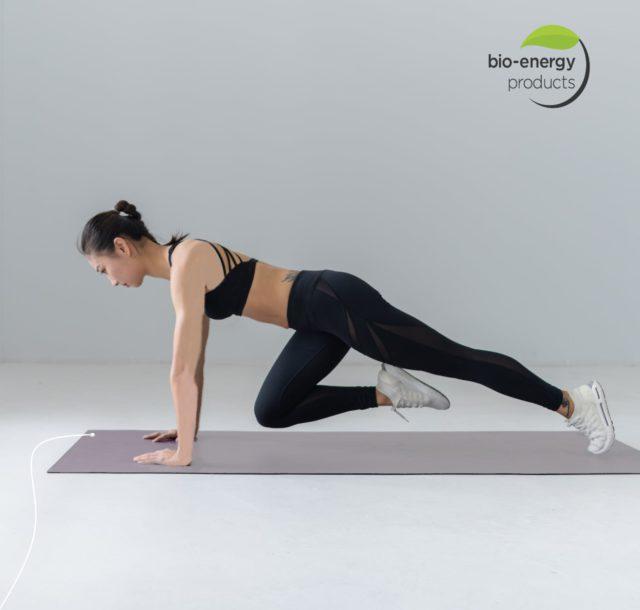 Bioenergy products yoga mat