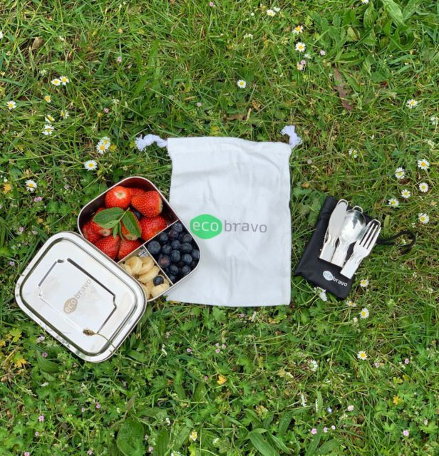 Eco Bravo's Stainless Steel Lunchbox Set review