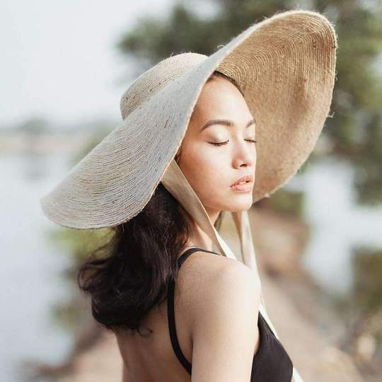 Ethical Chick Lola Wide Brim Jute Hat