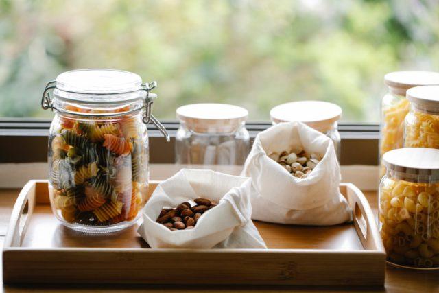 eco-friendly Glass jars