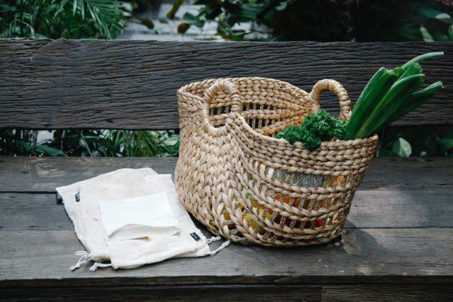 Organic fabric production bags